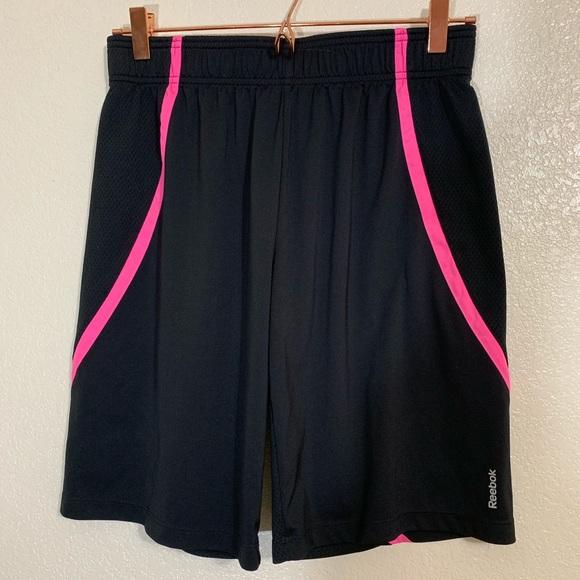 Reebok Other - Reebok | EUC Black & Pink Basketball Shorts XL/16
